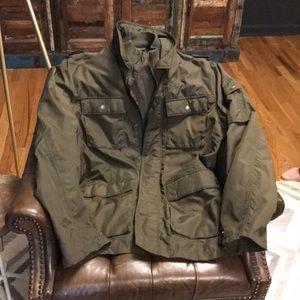 Gap Military-Style Nylon Jacket
